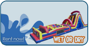 wet obstacle course rentals boise