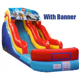 (B) 18ft Modular Wave Water Slide