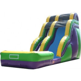 (B) 24ft Wild Rapids Wave Dry Slide