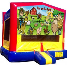 (C) Fun On The Farm Bounce House