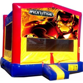 (C) Iron Man Bounce House