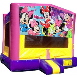 (C) Minnie Mouse Bounce House