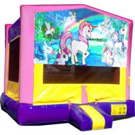 (C) Unicorn Bounce House