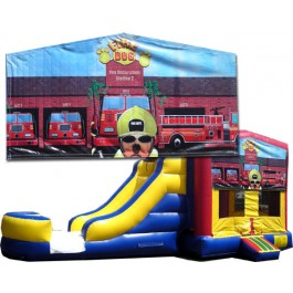 (C) Fire Dog Bounce Slide combo (Wet or Dry)