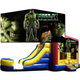 (C) Hulk Bounce Slide combo (Wet or Dry)