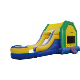 (A1) Fun House Bounce Slide combo (Wet or Dry)