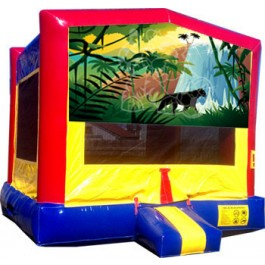 (C) Jungle Bounce House