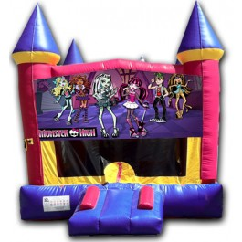 (C) Monster High Castle Bounce House