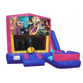 (C) Tangled 7N1 Bounce Slide combo (Wet or Dry)