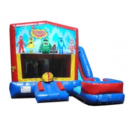 (C) Yo Gabba Gabba 7n1 Bounce Slide combo (Wet or Dry)