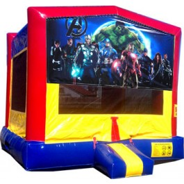 (C) Avengers Bounce House