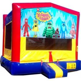 (C) Yo Gabba Gabba Bounce House