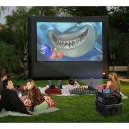 (C) Movie Screen w/Projector
