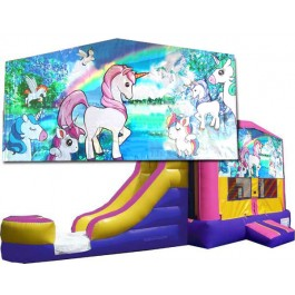 (C) Unicorn Bounce Slide combo (Wet or Dry)