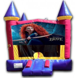 (C) Brave Castle Bounce House