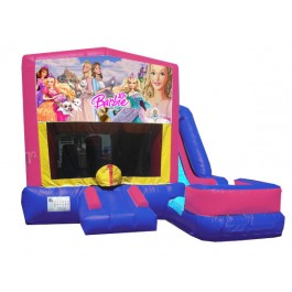 (C) Barbie 7n1 Bounce Slide combo (Wet or Dry)