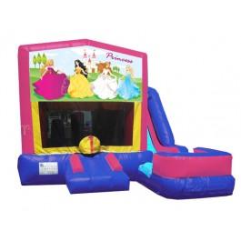 (C) Princess Banner 7n1 Bounce Slide combo (Wet or Dry)