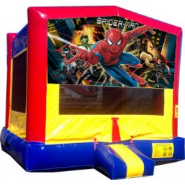 (C) Spider-Man Bounce House