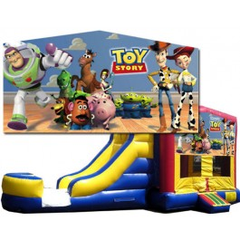 (C) Toy Story Bounce Slide combo (Wet or Dry)