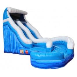 (B) 18ft Wave Runner Wet-Dry Slide