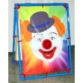 clown bean bag toss