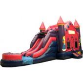 (B)  Princess Castle 2 Lane combo (Wet or Dry)