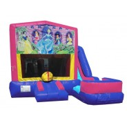 (C) Disney Princess 7N1 Bounce Slide combo (Wet or Dry)