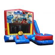 (C) Smurfs 7n1 Bounce Slide combo (Wet or Dry)
