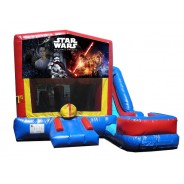 (C) Star Wars 7N1 Bounce Slide combo (Wet or Dry)