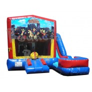 (C) Western Square 7n1 Bounce Slide combo (Wet or Dry)