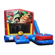 (C) Wreck It Ralph 7n1 Bounce Slide combo (Wet or Dry)