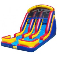 (B) 18ft Dual Lane Water Slide