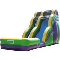 (B) 18ft Wild Rapids Wave Dry Slide