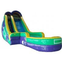 (B) 24ft Dry Slide Rental