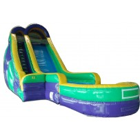 (B) 24ft Water Slide Rental
