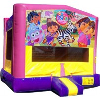 (C) Dora The Explorer Bounce House