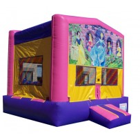 (C) Disney Princess Bounce House