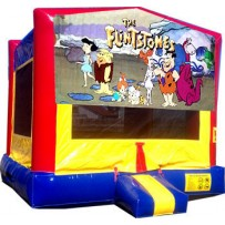 (C) Flintstones Bounce House