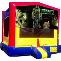 (C) Hulk Bounce House
