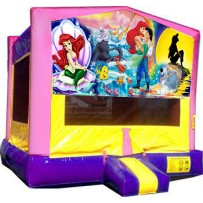(C) Little Mermaid Bounce House