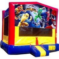(C) Power Rangers Bounce House