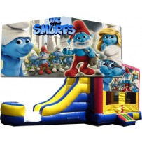 (C) Smurfs 2 Lane combo (Wet or Dry)