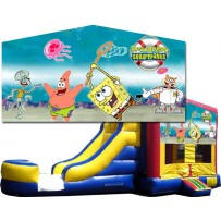 (C) Sponge Bob Bounce Slide combo (Wet or Dry)