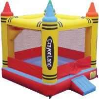 (B) Crayon Bounce House
