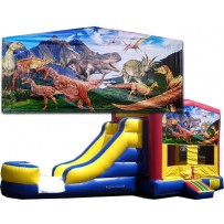 (C) Dinosaurs Bounce Slide combo (Wet or Dry)