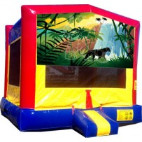(C) Jungle Bounce House