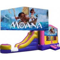 (C) Moana Bounce Slide combo (Wet or Dry)