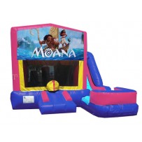 (C) Moana 7N1 Bounce Slide combo (Wet or Dry)