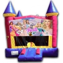 (C) Barbie Castle Bounce House