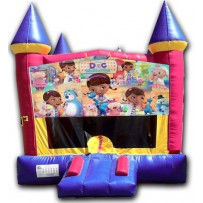 (C) Doc McStuffins Castle Bounce House